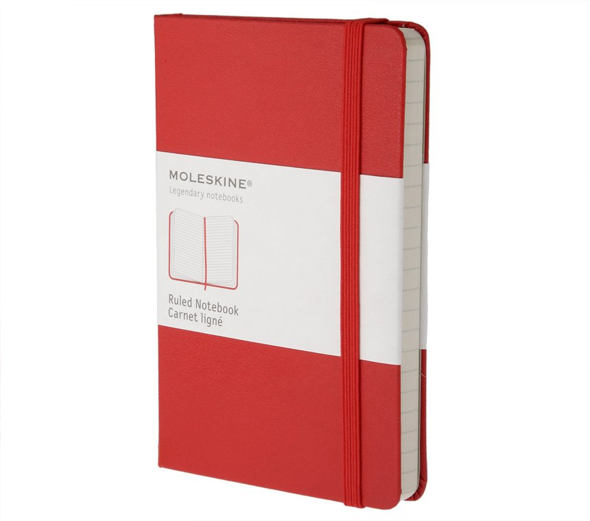 Promosyon Ruled Red Notebook - Pocket