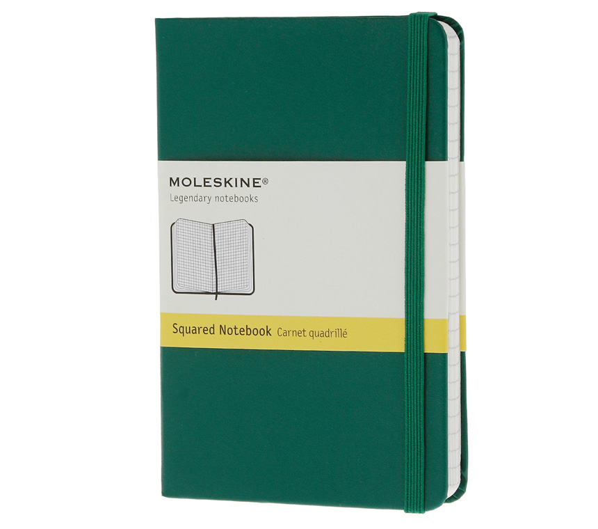 Promosyon Notebook Pocket Squared Oxide Green Hard