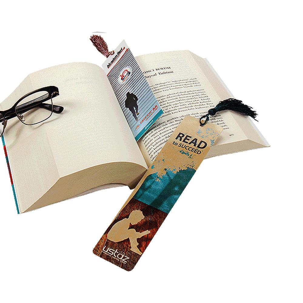 Promosyon Püsküllü Kitap Ayracı
