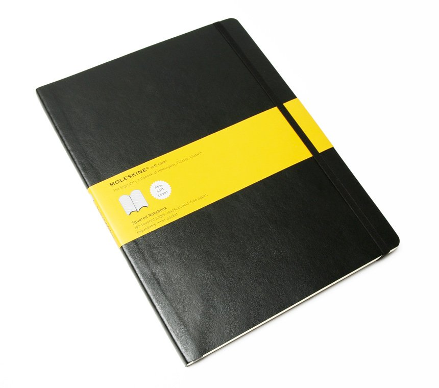 Promosyon Squared Soft Notebook - Extra Large