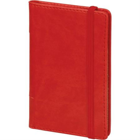 Promosyon Küçükköy 9,5 x 14,5 Deri Notluk kırmızı