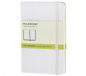 Promosyon Notebook Pocket Plain White Hard