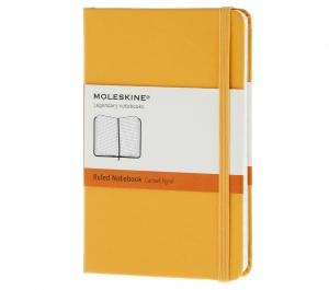 Promosyon Notebook Pocket Ruled Orange Yellow Hard