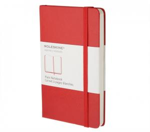 Promosyon Plain Red Notebook - Pocket