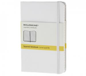 Promosyon Notebook Pocket Squared White Hard
