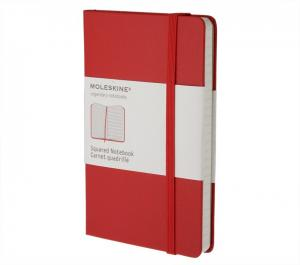 Promosyon Squared Red Notebook - Pocket