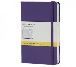 Promosyon Notebook Pocket Squared Brilliant Violet Hard
