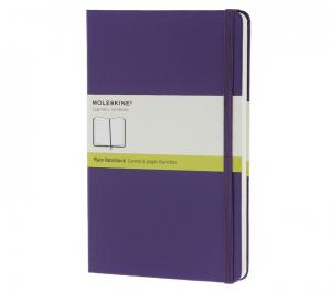 Promosyon Notebook Pocket Plain Brilliant Violet Hard