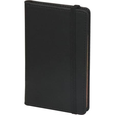 Promosyon Küçükköy 9,5 x 14,5 Deri Notluk siyah