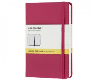 Promosyon Notebook Pocket Squared Magenta Hard