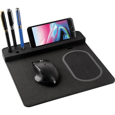 Promosyon Wireless Şarjlı Mouse Pad