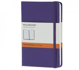 Promosyon Notebook Pocket Ruled Brilliant Violet Hard