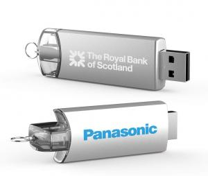 Promosyon Usb -180° Twist Metal