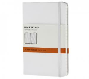Promosyon Notebook Pocket Ruled White Hard