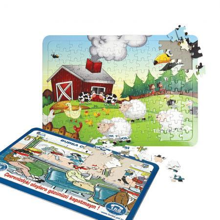 Promosyon 39*27 cm. 130 Parçalı Puzzle