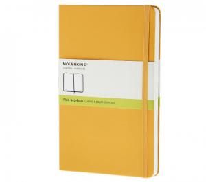 Promosyon Notebook Pocket Plain Orange Yellow Hard