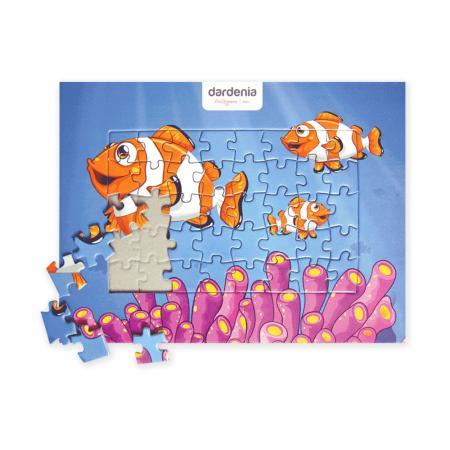 Promosyon 15.5*20.5 cm.40 Parçalı Puzzle