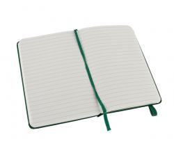 Promosyon Notebook Pocket Ruled Oxide Green Hard