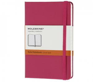 Promosyon Notebook Pocket Ruled Magenta Hard